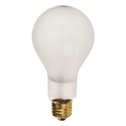 E/MART 300W FROSTED LIGHT BULB