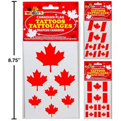 CANADA FLAG TATTOOS
